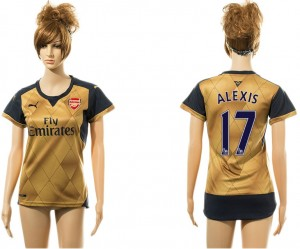 Camiseta de Arsenal Away 17#
