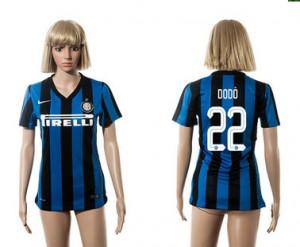 Mujer Camiseta del 22 Inter Milan 2015/2016