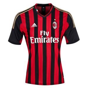Camiseta del AC Milan Primera Tailandia 2013/2014