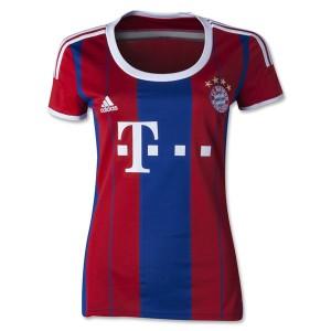 Camiseta nueva del Bayern Munich 2014/2015 Equipacion Mujer Segunda