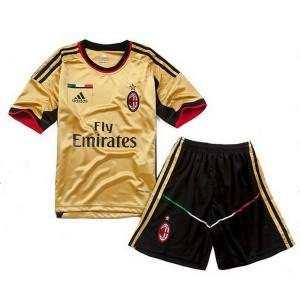 Camiseta AC Milan Tercera Equipacion 2013/2014 Nino