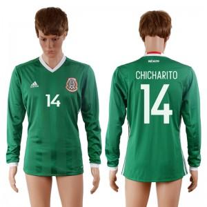 Camiseta de Mexico 2016-2017 14#