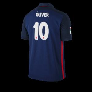 Camiseta nueva Atletico Madrid OLIVER Equipacion Segunda 2015/2016