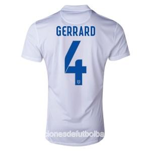Camiseta nueva del Inglaterra de la Seleccion WC2014 Gerrard Primera
