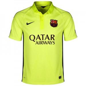 Camiseta nueva del Barcelona 2014/2015 Equipacion Tercera