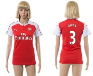 Camiseta nueva Arsenal Mujer 3 2015/2016