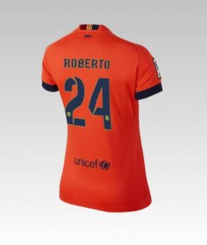 Camiseta del Bartra Barcelona Segunda 2013/2014