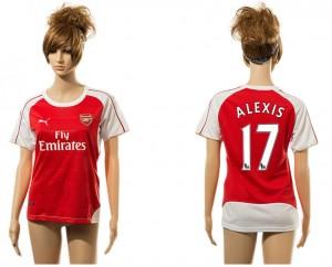 Camiseta nueva del Arsenal 17# Mujer aaa version Home