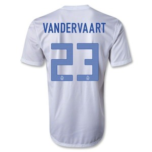 Camiseta de Holanda 2013/2014 Segunda Vandervaart