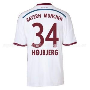 Camiseta de Bayern Munich 2014/2015 Segunda Hojbjerg Equipacion