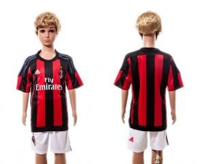 Camiseta nueva del AC Milan 2015/2016 Ninos Home