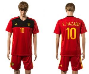 Camiseta nueva del Belgium 2015-2016 10#