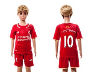 Camiseta nueva Liverpool Ninos 10 2015/2016
