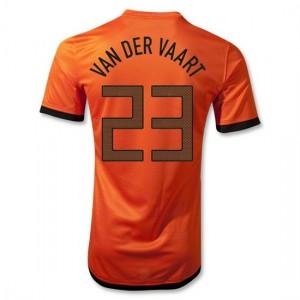 Camiseta del Van Der Vaart Holanda Primera 2012/2014
