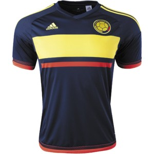 Camiseta del Colombia Away 2016