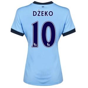 Camiseta de Manchester City 2014/2015 Tercera Dzeko
