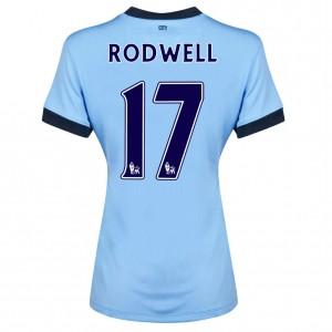Camiseta nueva Manchester City Fernandinho Tercera 2013/2014