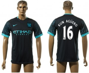 Camiseta nueva del Manchester City 16# aaa version Away