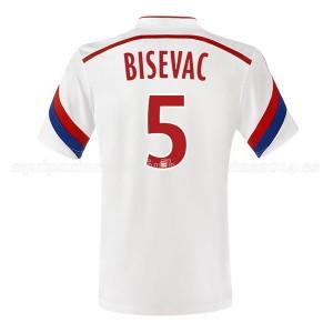 Camiseta nueva Lyon Bisevac Primera 2014/2015