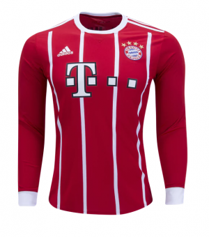 Juventud Camiseta del Bayern Munich Mangas largas 2017/2018