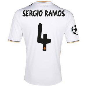 Camiseta nueva del Real Madrid 2013/2014 Sergio Ramos Primera