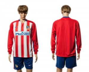 Camiseta nueva Atletico Madrid Manga Larga Primera 15/16
