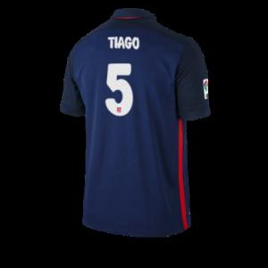Camiseta nueva del Atletico Madrid 2015/2016 Equipacion TIAGO Segunda