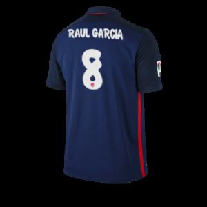 Camiseta del RAUL GARCIA Atletico Madrid Segunda Equipacion 2015/2016