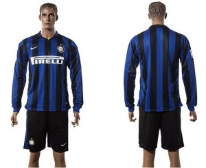 Camiseta Inter milan Manga Larga 2015/2016