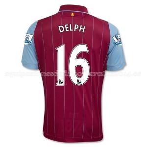 Camiseta del Delph Aston Villa Primera Equipacion 2014/15