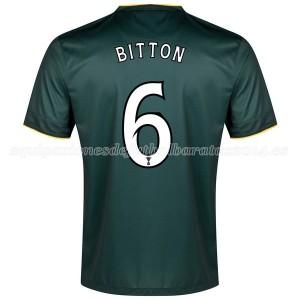 Camiseta Celtic Bitton Segunda Equipacion 2014/2015