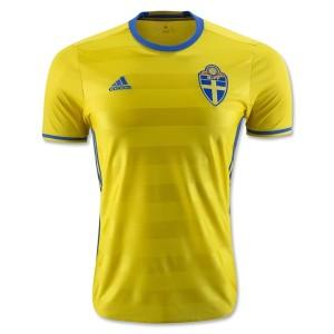 Camiseta del Suecia 2016/2017