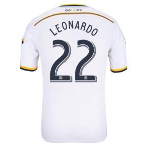 Camiseta nueva del Los Angeles Galaxy 13/14 Leonardo Primera