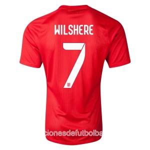 Camiseta nueva Inglaterra de la Seleccion Wilshere Segunda WC2014