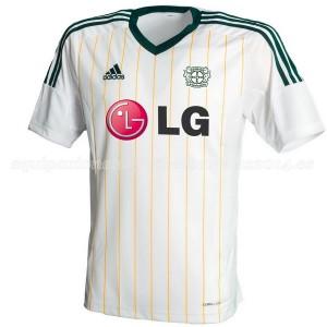Camiseta del Bayer 04 Leverkusen Tercera Equipacion 2014/2015