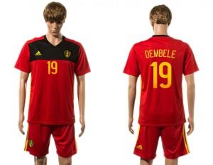 Camiseta de Belgium 2015-2016 19#