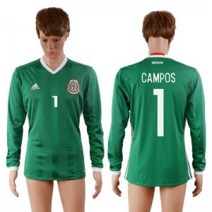 Camiseta nueva Mexico 1# 2016-2017