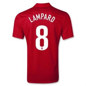 Camiseta del Lampard Inglaterra de la Seleccion Segunda 2013/2014
