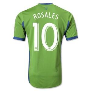 Camiseta nueva Seattle Sound Rosales Tailandia Primera 2013/2014