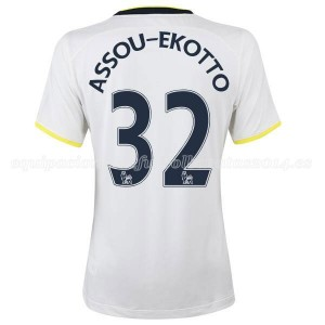 Camiseta de Tottenham Hotspur 14/15 Primera Assou Ekotto