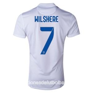 Camiseta de Inglaterra de la Seleccion WC2014 Primera Wilshere