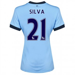 Camiseta nueva del Manchester City 2014/2015 Fernandinho Tercera
