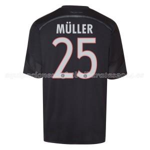 Camiseta de Bayern Munich 2014/2015 Tercera Muller Equipacion
