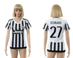 Camiseta de Juventus 2015/2016 27 Mujer