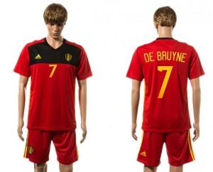Camiseta Belgium 7# 2015-2016
