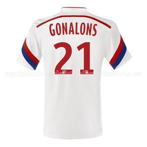 Camiseta Lyon Gonalons Primera 2014/2015