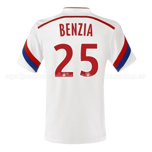 Camiseta nueva Lyon Benzia Primera 2014/2015