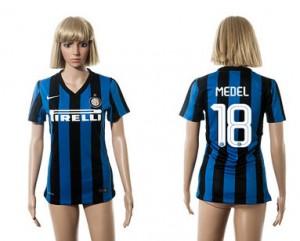 Mujer Camiseta del 18 Inter Milan 2015/2016