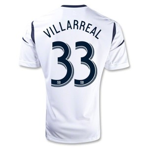 Camiseta nueva Los Angeles Galaxy Villarreal Primera 2013/2014