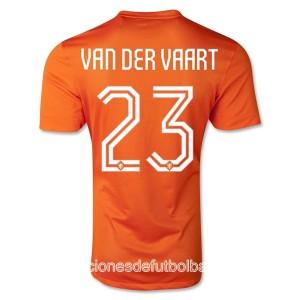 Camiseta nueva del Holanda WC2014 Van Der Vaart Primera